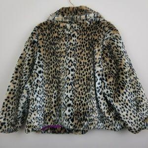 790170b72ac6d Ava   Viv Jackets   Coats - Ava   Viv NWT Cheetah Faux Fur ...